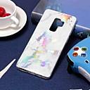 رخيصةأون ملابس وإكسسوارات الكلاب-غطاء من أجل Samsung Galaxy S9 / S9 Plus / S8 Plus تصفيح / نموذج غطاء خلفي حجر كريم ناعم TPU