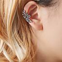 ieftine Cercei-Pentru femei Cătușe pentru urechi Cercei cu spirală Floare femei Design Unic Modă Cute Stil cercei Bijuterii Auriu / Argintiu Pentru Ieșire Muncă 1 buc