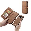 povoljno Samsung oprema-Θήκη Za Samsung Galaxy Note 9 / Note 8 Novčanik / Utor za kartice / Otporno na trešnju Korice Jednobojni Tvrdo prava koža
