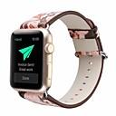 povoljno Dijelovi i dodaci za 3D printer-prava koža / Poli uretanska Pogledajte Band Remen za Apple Watch Series 4/3/2/1 Pink 23 cm / 9 inča 2.1cm / 0.83 Palac