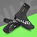 رخيصةأون أغطية الأحذية-GIYO للبالغين أغطية أحذية الدراجة مقاوم للماء توسيد تهوية أخضر / الدراجة دراجة أسود أحذية الدراجة