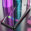 voordelige Galaxy J5(2017) Hoesjes / covers-hoesje Voor Samsung Galaxy J8 (2018) / J7 Prime / J7 (2017) met standaard / Spiegel / Flip Volledig hoesje Effen Hard PU-nahka