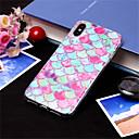 رخيصةأون أغطية أيفون-غطاء من أجل Apple iPhone XS / iPhone XR / iPhone XS Max نموذج غطاء خلفي لون متغاير ناعم TPU