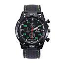 رخيصةأون ساعات الرجال-رجالي ساعة رياضية كوارتز سيليكون أسود ساعة كاجوال مماثل موضة - أحمر أخضر أزرق