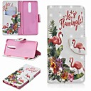 povoljno iPhone maske-Θήκη Za Nokia Nokia 5.1 / Nokia 3.1 / Nokia 2.1 Novčanik / Utor za kartice / sa stalkom Korice Flamingo Tvrdo PU koža