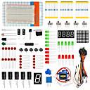 tanie Organizery na blaty i ściany-Zestaw uniwersalnych elementów kluczy 503a dla miłośników elektroniki arduino