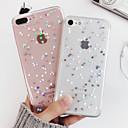رخيصةأون أغطية أيفون-غطاء من أجل Apple iPhone XS / iPhone X / iPhone 8 Plus ضد الصدمات / شبه شفّاف غطاء خلفي قلب / كارتون ناعم TPU