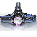 ieftine Frontale-3Mode Frontale Lumini de Bicicletă Becul farurilor Rezistent la apă Reîncărcabil 2000 lm LED LED 1 emițători 3 Mod Zbor cu Baterii și Încărcătoare Rezistent la apă Reîncărcabil Rezistent la Impact