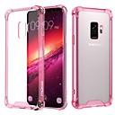 voordelige Galaxy S7 Edge Hoesjes / covers-hoesje Voor Samsung Galaxy S9 / S9 Plus / S8 Plus Schokbestendig / Transparant Achterkant Effen Zacht TPU / Acryl