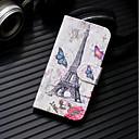 povoljno Maske/futrole za Xiaomi-Θήκη Za Xiaomi Xiaomi Redmi Note 4X / Xiaomi Redmi Note 4 / Redmi 6A Novčanik / Utor za kartice / sa stalkom Korice Eiffelov toranj Tvrdo PU koža