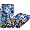 رخيصةأون Nokia أغطية / كفرات-غطاء من أجل Samsung Galaxy S9 / S9 Plus / S8 Plus محفظة / حامل البطاقات / مع حامل غطاء كامل للجسم زهور قاسي جلد PU