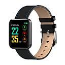 povoljno Soldering Iron & Accessories-Indear S88 Muškarci Smart Narukvica Android iOS Bluetooth Sportske Vodootporno Heart Rate Monitor Mjerenje krvnog tlaka Ekran na dodir Brojač koraka Podsjetnik za pozive Mjerač aktivnosti Mjerač sna
