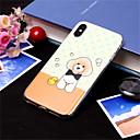 رخيصةأون أغطية أيفون-غطاء من أجل Apple iPhone XS / iPhone XR / iPhone XS Max نموذج غطاء خلفي كلب ناعم TPU