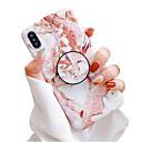 povoljno Zaštita zaslona za iPhone XS Max-Θήκη Za Apple iPhone XS / iPhone XR / iPhone XS Max sa stalkom / IMD / Mutno Stražnja maska Mramor Mekano TPU