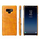 ieftine Unelte Pescuit-Maska Pentru Samsung Galaxy Note 9 Titluar Card Capac Spate Mată Greu Piele autentică