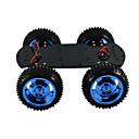 povoljno Dekoracija doma-4wd puni metalni motor pametan automobil podvozje veliki momentalni robot arduino