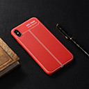 رخيصةأون أقراط-غطاء من أجل Apple iPhone XS / iPhone XR / iPhone XS Max شبه شفّاف غطاء خلفي لون سادة ناعم TPU
