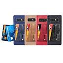 povoljno Narukvice-Θήκη Za Samsung Galaxy Note 9 / Note 8 Utor za kartice / sa stalkom / Prsten držač Stražnja maska Jednobojni Mekano PU koža / Ultra tanko