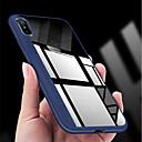رخيصةأون أغطية أيفون-غطاء من أجل Apple iPhone XS / iPhone XR / iPhone XS Max نحيف جداً / شفاف غطاء خلفي لون سادة ناعم TPU