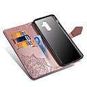 رخيصةأون حافظات / جرابات هواتف جالكسي A-غطاء من أجل Samsung Galaxy A6 (2018) / A6+ (2018) / A5 (2017) محفظة / حامل البطاقات / مع حامل غطاء كامل للجسم ماندالا نمط قاسي جلد PU