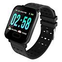 povoljno Smart Wristbands-Indear M20/A6 Muškarci Smart Narukvica Android iOS Bluetooth Sportske Vodootporno Heart Rate Monitor Mjerenje krvnog tlaka Ekran na dodir Brojač koraka Podsjetnik za pozive Mjerač aktivnosti Mjera