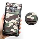 رخيصةأون إكسسوارات سامسونج-غطاء من أجل Samsung Galaxy Note 9 / Note 8 حامل البطاقات / مغناطيس غطاء خلفي لون سادة قاسي جلد PU
