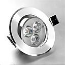 ieftine Convertor de Voltaj-1 buc 3 W 250 lm 3 LED-uri de margele Încastrat LED Tavan Alb Cald Alb Rece 85-265 V Rezidențial Acasă / Birou Dormitor / RoHs / CE