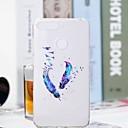 povoljno Maske/futrole za Huawei-Θήκη Za Huawei Huawei Honor 10 / Honor 9 / Huawei Honor 9 Lite Prozirno / Uzorak Stražnja maska Perje Mekano TPU