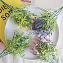 povoljno Umjetno cvijeće-Umjetna Cvijeće 1 Podružnica Klasični Cvijeće za vjenčanje Pastoral Style Svijetlo plava Cvjeće za stol