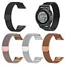 povoljno Apple Watch remeni-Pogledajte Band za Fenix 5x Garmin Preklopna metalna narukvica Nehrđajući čelik Traka za ruku