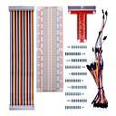 voordelige Handborstels & wissers-voor raspberry pi 3 kit met 830 tie-points breadboard en 40 pins rainbow-kabel