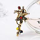 povoljno Narukvice-Žene Broševi Klasičan Kreativan Crtići Europska Moda Broš Jewelry Zlato Pink Za Božić Dnevno