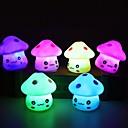 povoljno LED noćna rasvjeta-1pc Noćno svjetlo dječjeg vrtića Gumb Baterija pogonjena Crtani film / Lijep Baterija