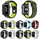 tanie Opaski do Apple Watch-Watch Band na Apple Watch Series 5/4/3/2/1 Jabłko Pasek sportowy Silikon Opaska na nadgarstek