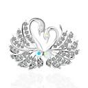 povoljno Broševi-Žene Broševi Klasičan Labud Vintage Broš Jewelry Pink Za Dnevno