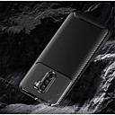 povoljno Muške majice i potkošulje-Θήκη Za Xiaomi Xiaomi Pocophone F1 / Xiaomi Mi Max 3 / Xiaomi Mi 8 Reljefni uzorak Stražnja maska Jednobojni Mekano Carbon Fiber