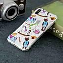 رخيصةأون أغطية أيفون-غطاء من أجل Apple iPhone XS / iPhone XR / iPhone XS Max شفاف / نموذج غطاء خلفي قرميدة ناعم TPU