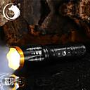 ieftine lanterne-U'King Lanterne LED 2000 lm LED LED emițători 5 Mod Zbor Cu Baterie și Încărcător Zoomable Focalizare Ajustabilă Camping / Cățărare / Speologie Utilizare Zilnică Exterior / Aliaj de Aluminiu