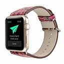 povoljno Dijelovi i dodaci za 3D printer-prava koža / Poli uretanska Pogledajte Band Remen za Apple Watch Series 4/3/2/1 Crvena 23 cm / 9 inča 2.1cm / 0.83 Palac