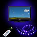 povoljno RGB trakasta svjetla-ZHT 2m Savitljive LED trake / RGB svjetleće trake / Daljinski upravljači 60 LED diode 5050 SMD Više boja Party / Povezivo / Samoljepljiva USB napajanje 1set