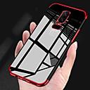 رخيصةأون حالات / أغطية ون بلس-غطاء من أجل OnePlus OnePlus 6 / OnePlus 5T تصفيح / شفاف غطاء خلفي لون سادة ناعم TPU