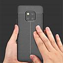 povoljno Zaštitne folije za Huawei-Θήκη Za Huawei Mate 10 / Mate 10 pro / Mate 10 lite Reljefni uzorak Stražnja maska Jednobojni Mekano PU koža