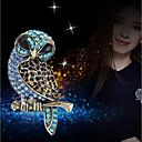 رخيصةأون بروشات-نسائي دبابيس 3D بوم سيدات أنيق تصميم فريد حجر الراين بروش مجوهرات أزرق من أجل مناسب للبس اليومي