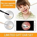 povoljno Mikroskopi i endoskopi-3 u 1 wifi hd vizualni uho žlica endoskop earpick s 3.9mm usb mini vodio fotoaparat olovka earwax čišćenje alat za inspekciju