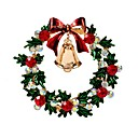 povoljno Broševi-Žene Broševi Klasičan Zvono dame Stilski Klasik Umjetno drago kamenje Broš Jewelry Zlato Za Božić Dnevno