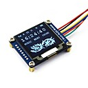 رخيصةأون آلات القياس-waveshare 1.5inch وحدة عرض oled 128x128 بكسل 16 مقياس الرمادية spi / i2c واجهة