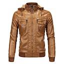 povoljno Motociklističke jakne-AOWOFS 1603 Odjeća za motocikle Zakó za Muškarci Umjetna koža Pasti / Zima Vodootporno / Otporne na nošenje / Protection