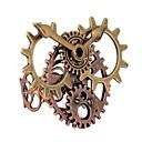 رخيصةأون أساور-نسائي خاتم 1PC كوفي سبيكة Geometric Shape سيدات Steampunk حركي مناسب للبس اليومي مناسب للعطلات مجوهرات فينتاج مسننة كوول
