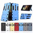 رخيصةأون واقيات شاشات أيفون X-غطاء من أجل نوكيا Nokia 6 2018 ضد الصدمات / مع حامل غطاء خلفي لون سادة قاسي الكمبيوتر الشخصي