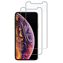 povoljno Zaštita zaslona za iPhone XS-AppleScreen ProtectoriPhone XS 9H tvrdoća Prednja zaštitna folija 2 kom Kaljeno staklo